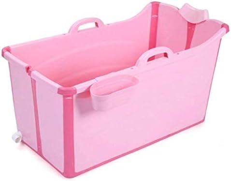 折り畳み式のバスタブポータブルプラスチックワールプールのために子供/大人断熱材、肥厚プール91x50x53cm(色:カバーなし)