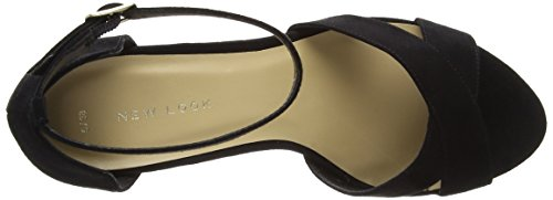 New Look Puff - Zapatos Mujer Black (Black)