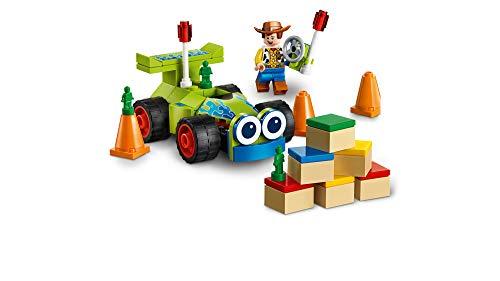 LEGO Disney Pixar's Toy Story 4 Woody & RC 10766 Building Kit (69 Pieces)
