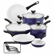 Farberware PURECOOK Ceramic Nonstick Cookware 12-Piece Cookw