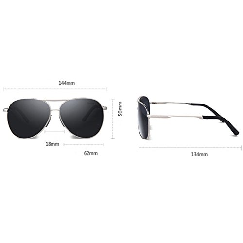 lunettes conduite de HL de de Marée Hd Polarized Des Lunettes conduite Conduite soleil Hommes Hommes Pilote awdq6fgxT
