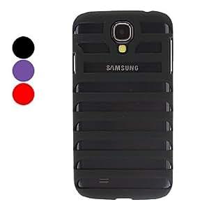 ZCL-Stripe estuche rígido estilo Hollow-Out para Samsung i9500 Galaxy S4 , Rojo