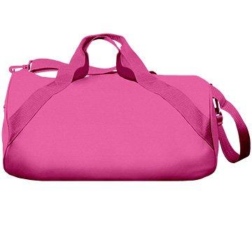 I Love Gymnastics Custom Name Gift: Liberty Barrel Duffel Bag by Customized Girl (Image #1)