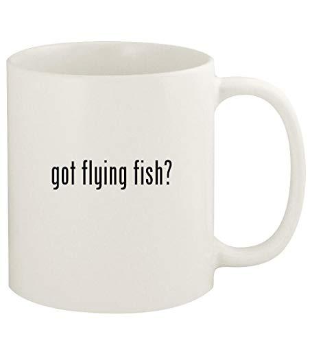 got flying fish? - 11oz Ceramic White Coffee Mug Cup, White