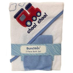 Bunchkin 2 Piece Baby Bath Set, Blue