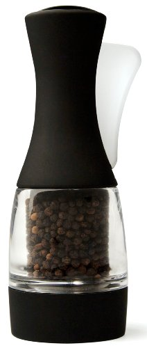 Chef'n Olle Due Pepper Grinder, Black