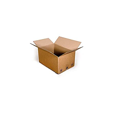 Pack de 100 Cartons Simple cannelure Havane 350x270x140 - TIGGRE.FR