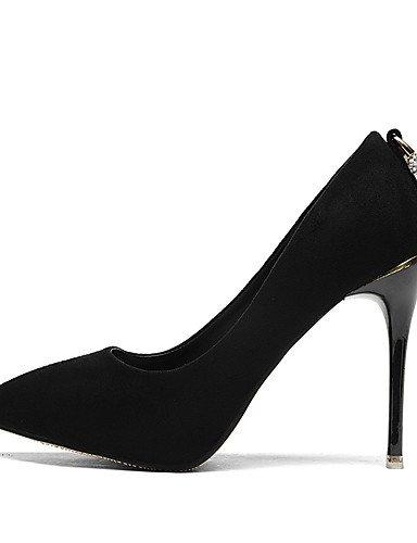 ... GGX/Damen Schuhe Stiletto Heel Spitz Zulaufender Zehenbereich Strass Pumpe  mehr Farbe erhältlich black- ...