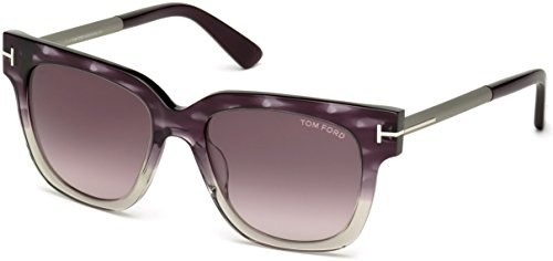 Sunglasses Tom Ford TF 436-F FT0436-F 83T violet/other / gradient bordeaux by Tom Ford