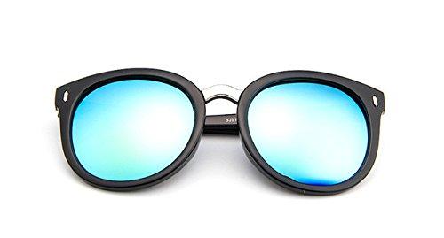 mujer C3 Classic remaches sol gafas reflectante sol de Moda Unisex Retro ZHANGYUSEN marca C7 gafas diseñador mujer de w8TxOCKq