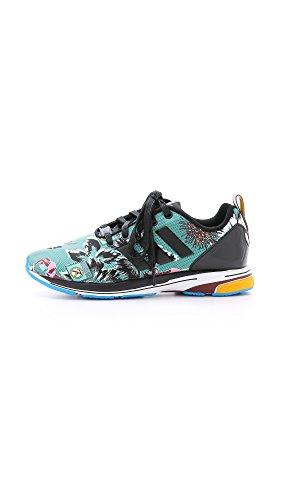 Adidas Originals Door Mary Katrantzou Womens Mk Zx Flux Tech Jogger Sneakers, Multi, 5.5 B (m) Us