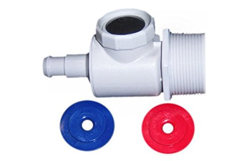 Polaris 91009001 UWF Connector Assembly Wall Fitting 9-100-9001 for 180/280/380 Polaris_Pools