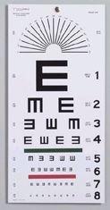 Graham-Field Health (a) Illiterate Eye Chart 22 X11 ()