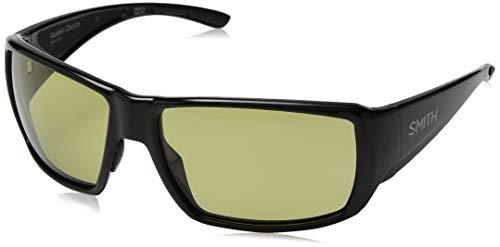3259419555 Smith Optics Guides Choice Sunglasses, Black Frame, Polar Low Light Ignitor  Techlite Glass Lenses