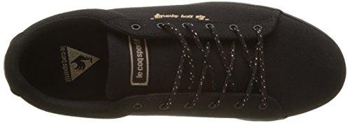 Metallic Black Black Le Schwarz Lo Coq Sportif Damen Agate Sneaker Cvs xwYTAqfw