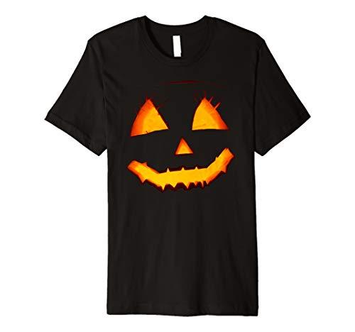 Funny Halloween Pumpkin Party Black Premium T-Shirt