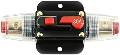 DBSUFV 20A 30A 40A 50A 60A 80A 100A 12 V Auto Vrachtwagen Audio Versterker Stroomonderbreker Zekeringhouder AGU Stijl stereo Versterker