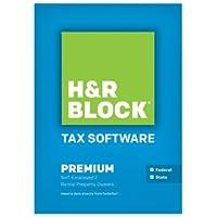 H&R Block Tax Software 2013 Premium + State