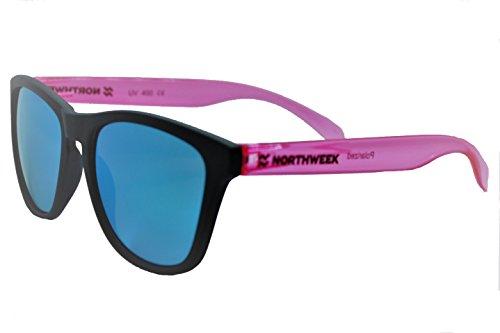 de Gafas lente bright black pink Northweek polarizada sol matte ice blue fdqwBdr