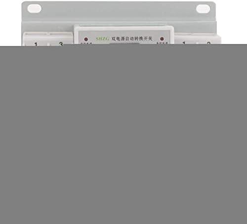 WXQ-XQ ミニデュアルパワー切り替えControlle、1個220V 63A 2Pミニデュアルパワー自動転送スイッチサーキットブレーカ 遮断器