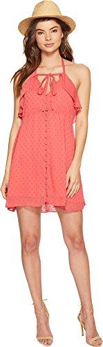 For Love & Lemons Women's Tarta Tank Dress, Flamingo, L by For Love & Lemons