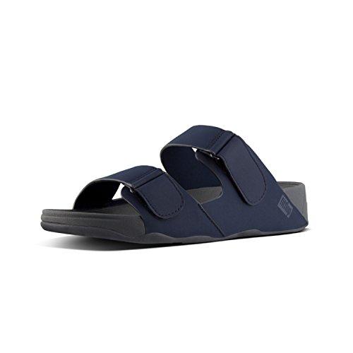 Navy Sandali Aperta Midnight Sandals Punta 399 Flop Fit Blu Gogh Slide Tm Moc Adjustable Uomo 1O1fqa0w