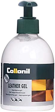 Collonil Leather Gel Classic 230ml Waterproofing and Conditioning Gel that Provides Protection and Care for Ha