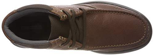 Stivali Cotrell Leather Uomo Clarks Top tobacco Marrone Classici zExf6v