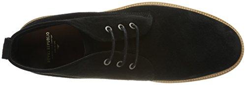 Suede Schwarz Black Cast Royal Boots Crepe Homme Republiq Midcut Desert 8P6ISq