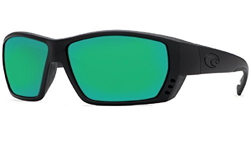 New Costa Del Mar Tuna Alley 580G Blackout/Green Mirror Polarized - Alley Tuna