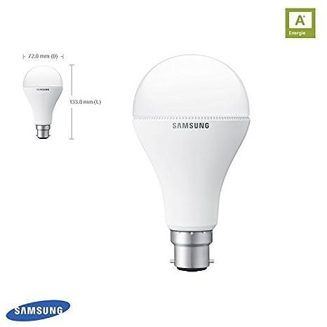 SAMSUNG bombilla LED B22d 12,2 W=75 W 2700 K 1100 lm bombilla lámpara 251051 GB8WH3012BF1EU: Amazon.es: Iluminación