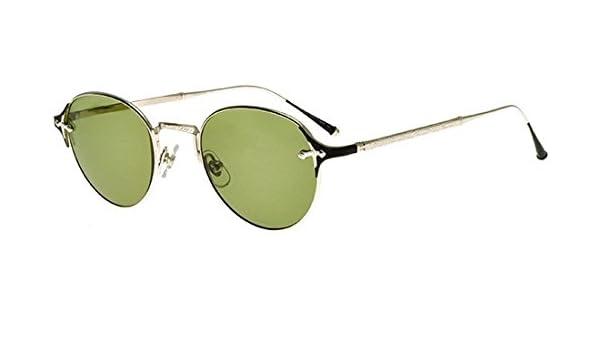 Matsuda Gafas de Sol HERITAGE 2859H PALLADIUM WHITE/GREEN ...
