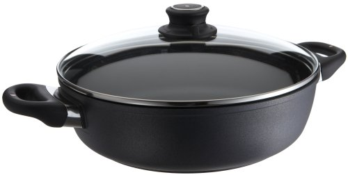 Swiss Diamond Sauteuse with Lid- 3.5 L (3.7 QT) 28 cm (11'') by Swiss Diamond