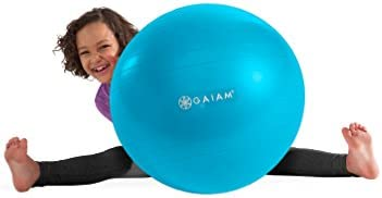 Exercise Stability Yoga Ball 45cm Kids Alternative Flexible Seating for Active Children in Home or Classroom Satisfaction Guarantee Gaiam Kids Balance Ball