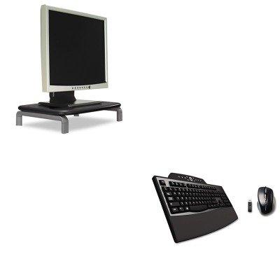 KITKMW60087KMW72403 - Value Kit - Kensington Pro Fit Comfort Desktop Set (KMW72403) and Kensington Monitor Stand with SmartFit System (KMW60087)