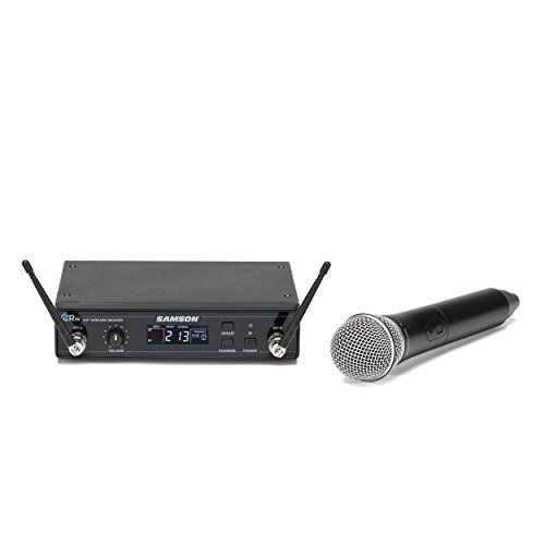 Samson Concert 99 Handheld Wireless System with Q8 Dynamic Microphone (D Band) by Samson Technologies