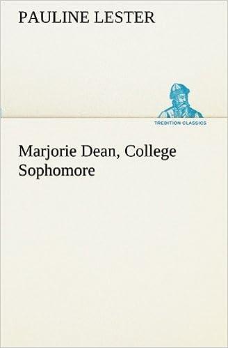 Book Marjorie Dean, College Sophomore (TREDITION CLASSICS)
