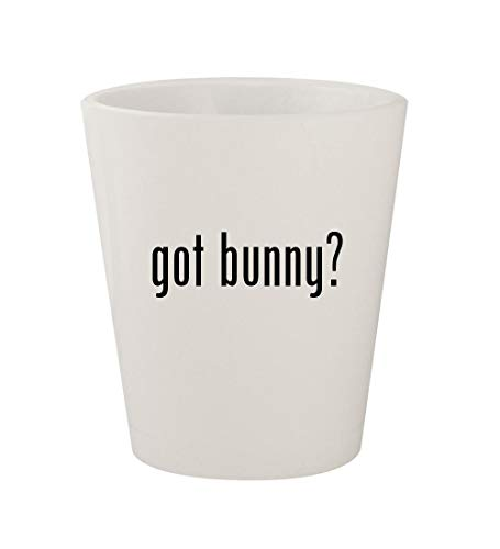 (got bunny? - Ceramic White 1.5oz Shot)