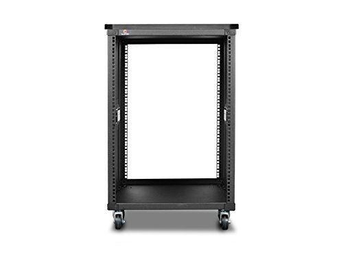 Hp Sliding Rails - iStarUSA Accessory WD-1560-WT 15U 600mm Depth Simple Server Rack with Wood Top Black Bare