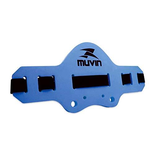 Cinto Flutuante Hidroginástica Acqua Jogger Regulavel Muvin - Azul