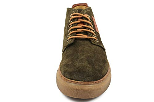 camel active Collo Uomo Caramel Racket Military 20 Marrone a Alto Sneaker rgdZPwr