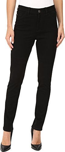 FDJ French Dressing Jeans Women's Olivia Slim Leg/Love Denim in Black Black 10 33