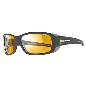 Julbo Montebianco Sunglasses - Zebra - Dark Gray/Yellow