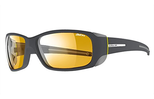 Julbo Montebianco Sunglasses - Zebra - Dark Gray/Yellow