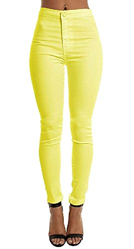 Z.M Jeggings for Women High Waisted Plus Size Pants Skinny Stretch Jeans Curve Pencil Pants Leggings for Women Capri Length