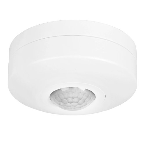 Flush PIR 360 Degree Ceiling Occupancy Motion Sensor Detector Light Switch