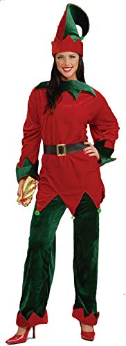 Forum Novelties Unisex Plus-Size Deluxe Helper Santa Elf