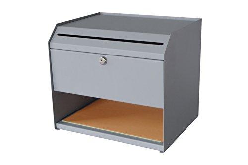 Sandusky Buddy Products Steel Suggestion Box, Grey (8011-1)