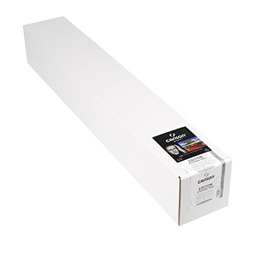 50' Roll One Contains (Canson Infinity Edition Etching Rag Fine Art Paper, Acid Free for Printmaking, 44 Inch x 50 Foot Roll, Bright White)