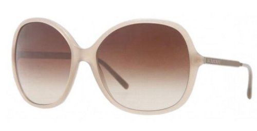 d5c537fa1958 Image Unavailable. Image not available for. Colour  Burberry Women s 4126  Brown Frame Brown Gradient Lens Plastic Sunglasses